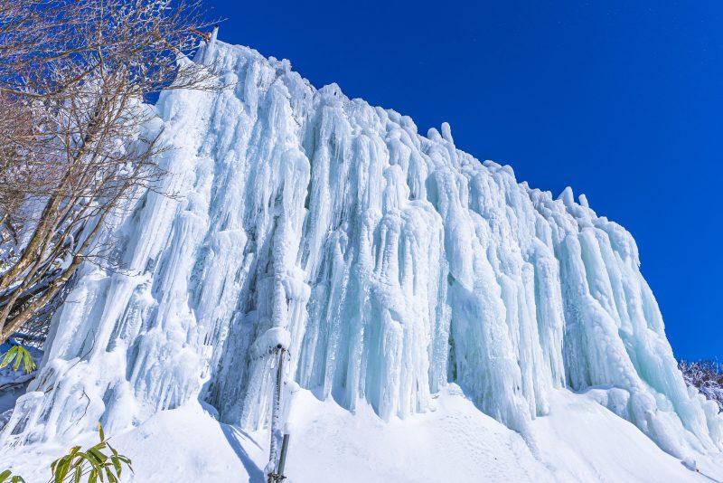 御在所岳の氷爆